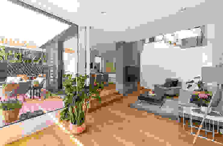 Wohnbereich modern Moderne Wohnzimmer von AL ARCHITEKT - in Wien Modern