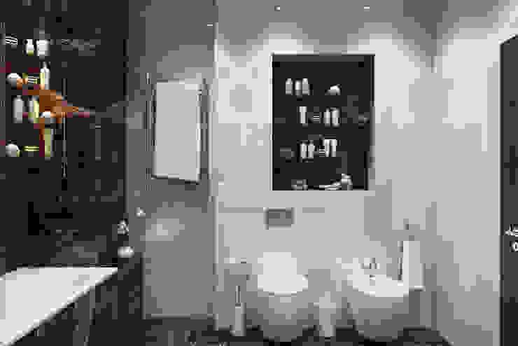Salle de bain scandinave par 'INTSTYLE' Scandinave Céramique