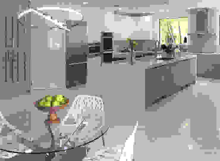現代廚房設計點子、靈感&圖片 根據 Milestone 現代風