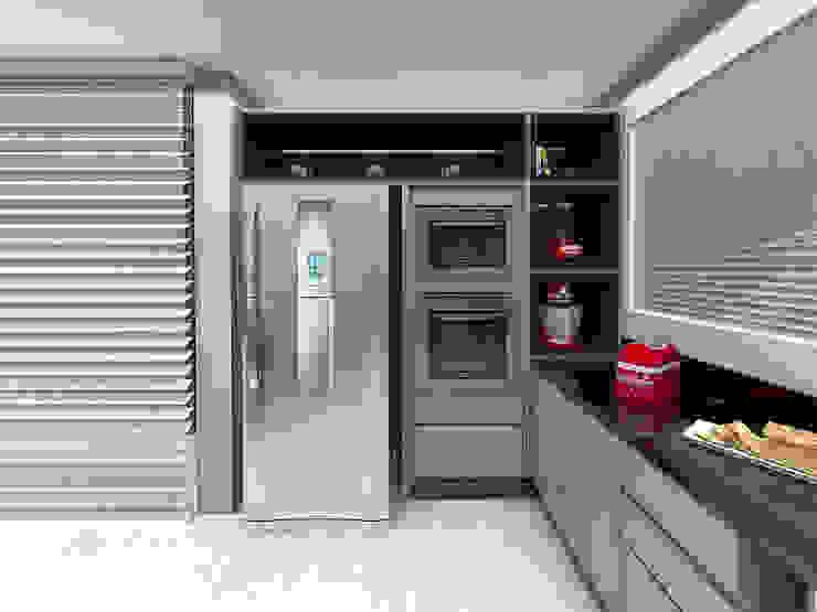 Cozinha: Cozinhas  por Projeto 3D Online,Moderno
