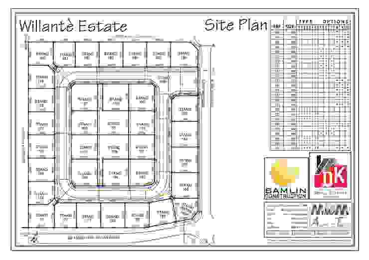 Site Plan by MvdM Archi-Techs