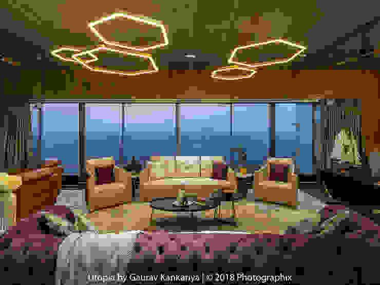 Salones de estilo moderno de Utopia by Gaurav Kankariya Moderno