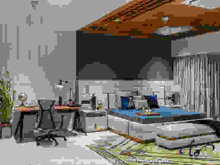 Dormitorios de estilo moderno de Utopia by Gaurav Kankariya Moderno