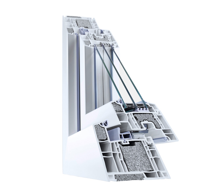 minimalist  by hilzinger GmbH - Fenster + Türen, Minimalist Synthetic Brown