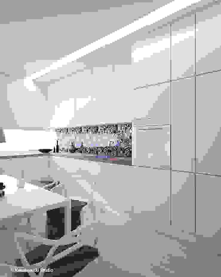 Кухня в стиле минимализм от KOSAKOWSKI STUDIO Минимализм