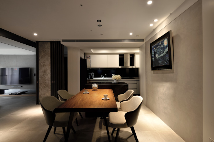 Modern dining room by 星葉室內裝修有限公司 Modern