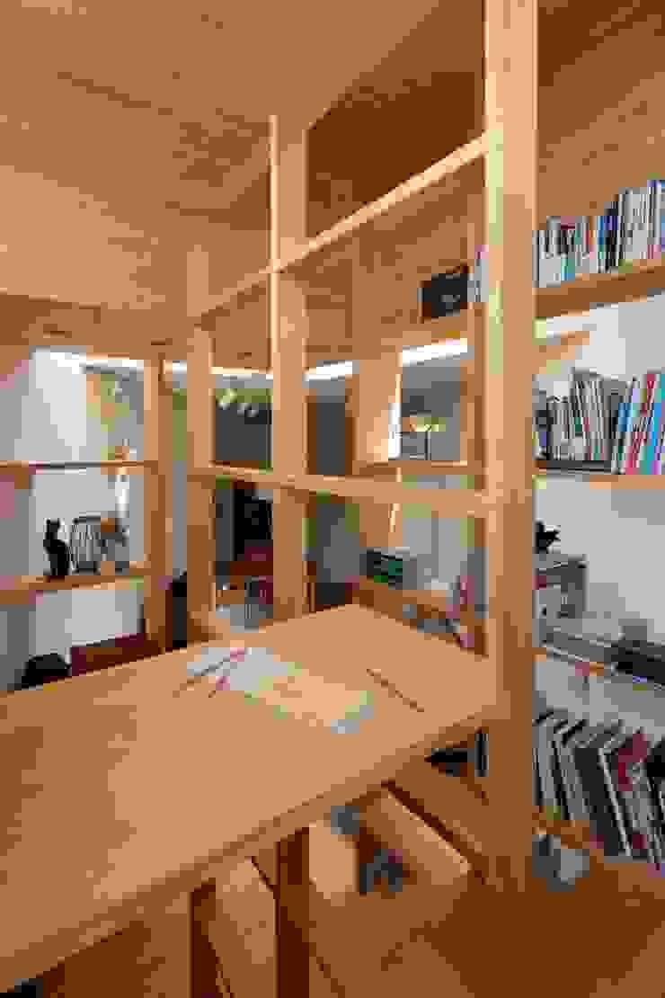 Modern study/office by 藤原・室 建築設計事務所 Modern