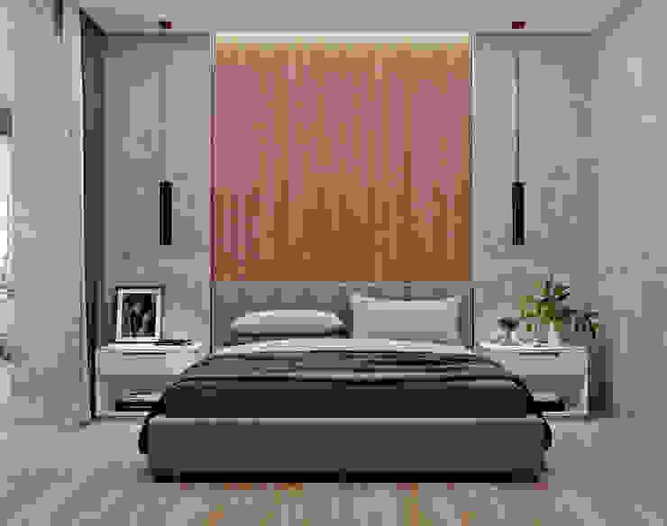 З двух в одну:  Спальня by 'EDS' Exclusive Design Solutions,