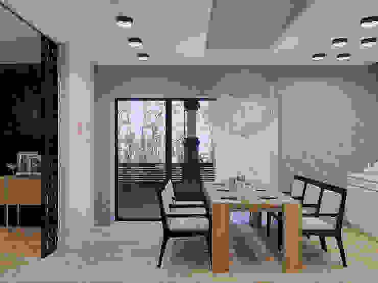 Частный дом в Юкках Кухня в стиле минимализм от Wide Design Group Минимализм