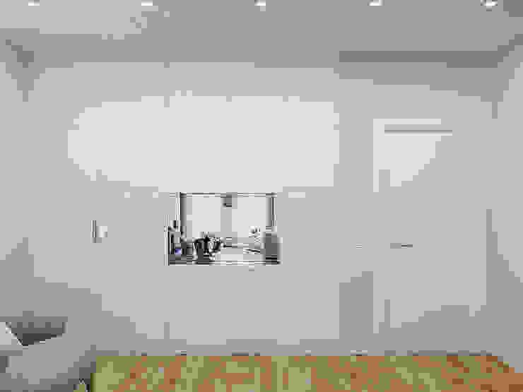 Частный дом в Юкках Спальня в стиле минимализм от Wide Design Group Минимализм