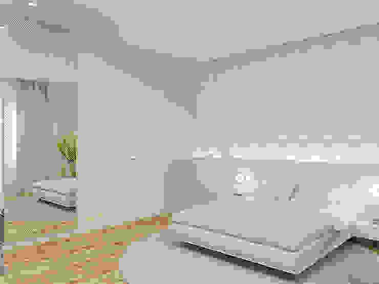 Minimalist bedroom by Wide Design Group Minimalist