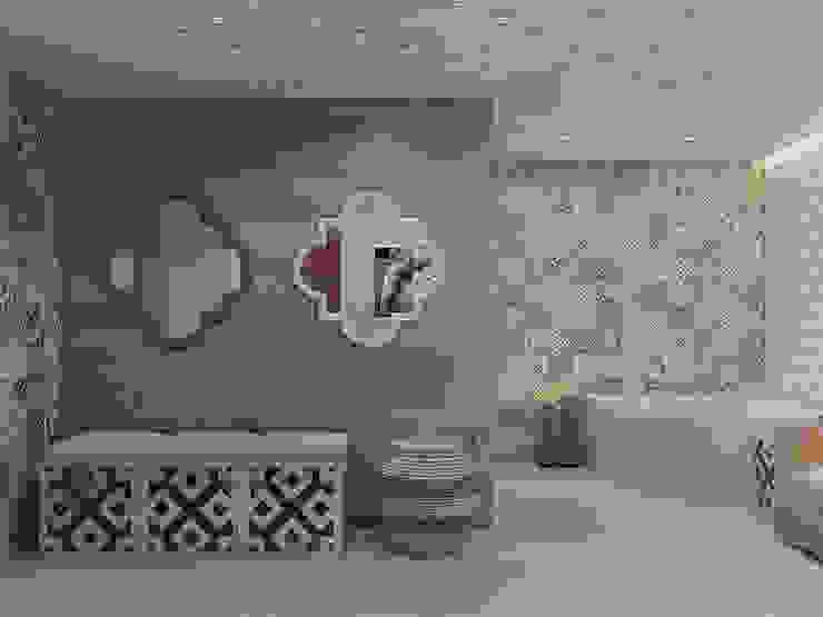 Частный дом в Юкках Спа в стиле минимализм от Wide Design Group Минимализм