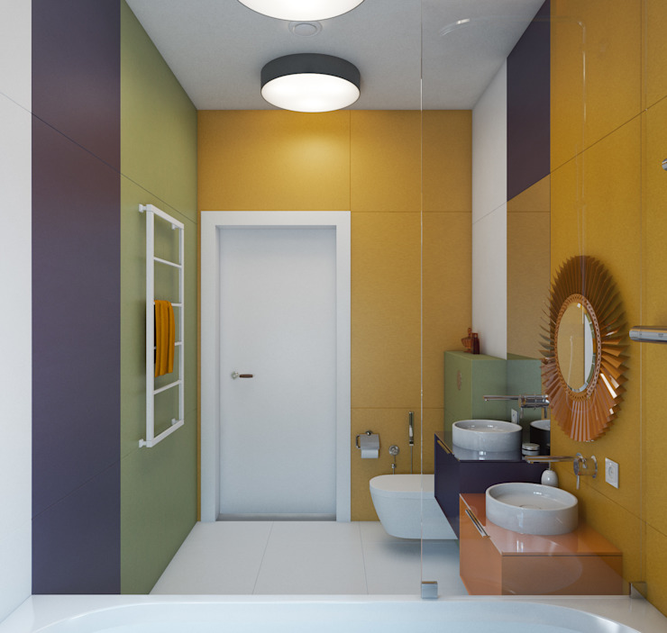 Minimalist style bathroom by Wide Design Group Minimalist