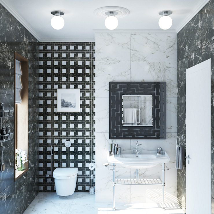 Eclectic style bathroom by Wide Design Group Eclectic