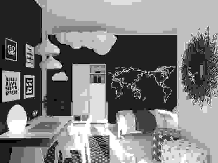Scandinavian style nursery/kids room by Wide Design Group Scandinavian