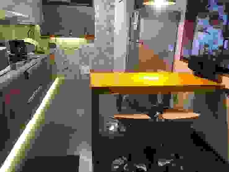 Cocina integrada de Actio arquitectos Ecléctico Cuarzo