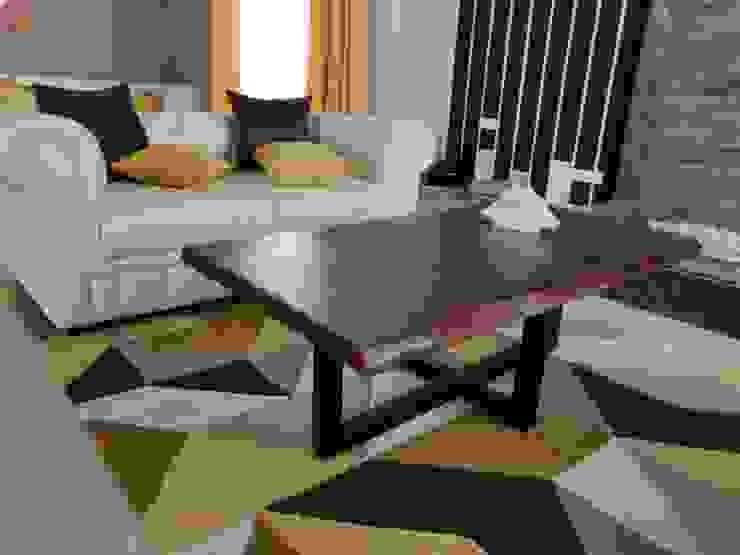 من Enrich Interiors & Decors حداثي خشب Wood effect