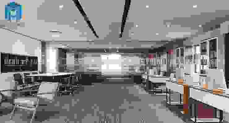 Designer Phòng học/văn phòng phong cách hiện đại bởi Công ty TNHH Nội Thất Mạnh Hệ Hiện đại Đồng / Đồng / Đồng thau