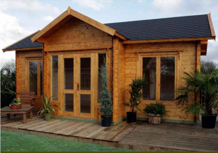 BZB Cabins And Outdoors Kabin Parket Wood effect