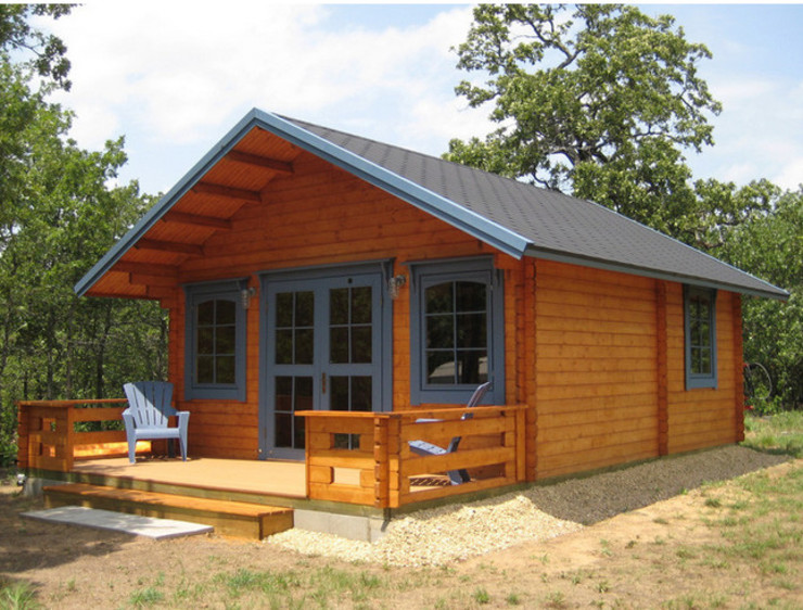 BZB Cabins And Outdoors Konservatori Klasik Parket Brown