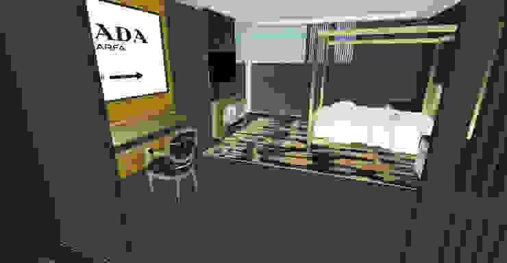 Bedroom 2 Industrial style bedroom by Aquarii Designs Industrial Metal