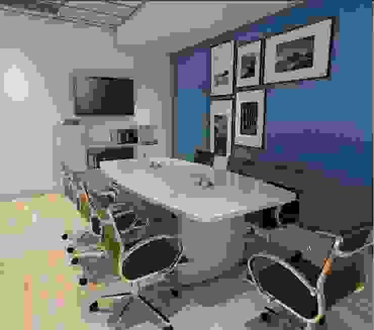 Renders - Sala de Juntas Estudios y despachos modernos de GREAT+MINI Moderno Compuestos de madera y plástico