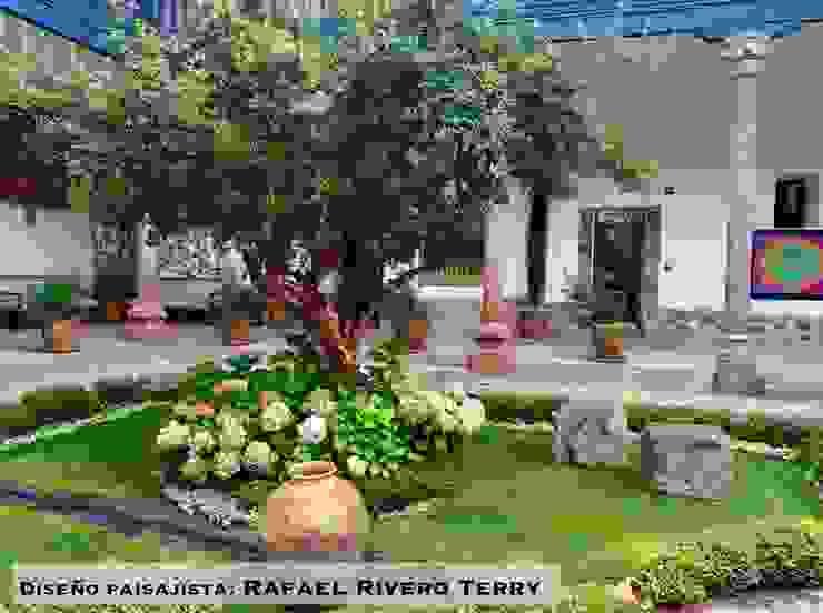 "Proyecto paisajista ""Belmond Palacio Nazarenas Hotel"" Cusco, Perú. de Rafael Rivero Terry arquitecto paisajista Colonial"