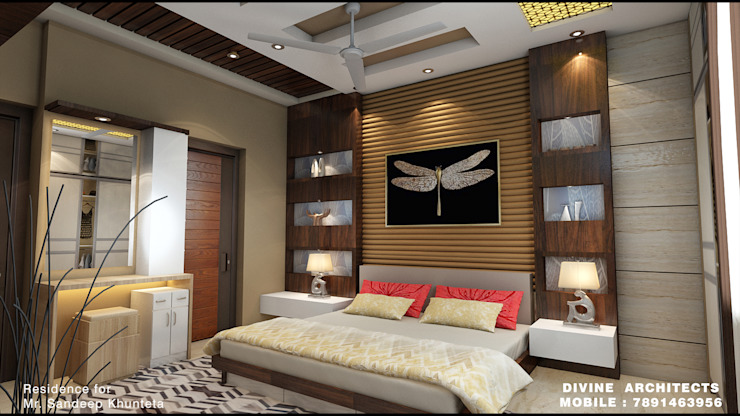 resident interior by divine architects