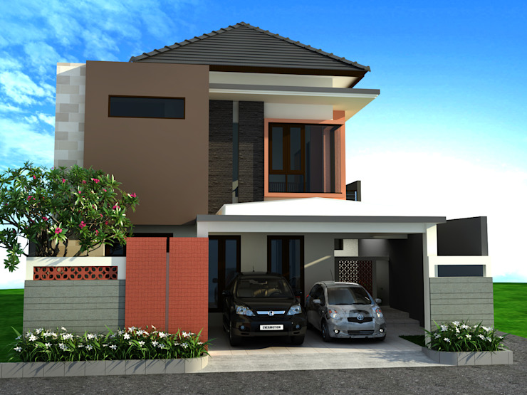 Dharma House Oleh KuntArch Studio Minimalis