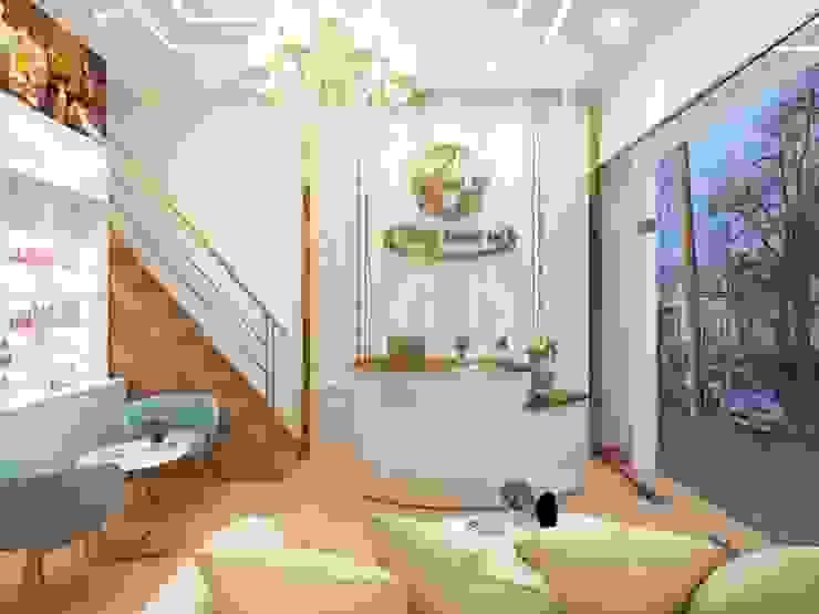 Phòng khách spa đẹp: hiện đại  by Công Ty TNHH Funi, Hiện đại