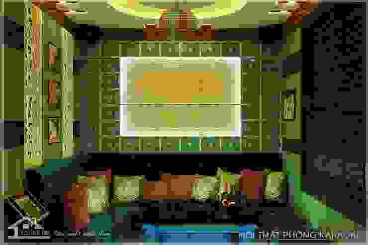 Phòng hát Karaoke bởi NỘI THẤT XINH