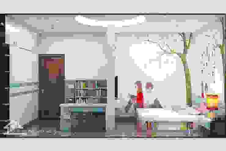 Phòng ngủ dành cho bé gái bởi NỘI THẤT XINH
