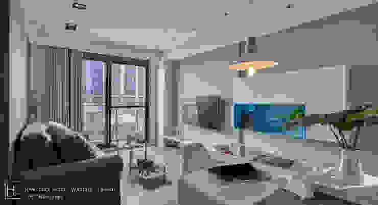 木質地板讓整個家帶來溫潤的質感: 現代  by SECONDstudio, 現代風