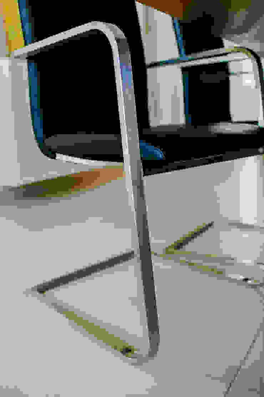 T-raumKONZEPT - Interior Design im Raum Nürnberg Modern dining room Iron/Steel Metallic/Silver