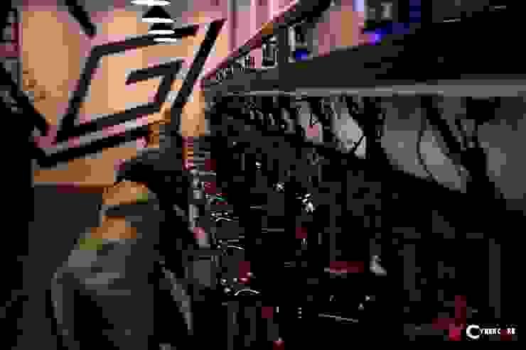 Phòng game CyberCore cao cấp bởi Ghế Văn Minh Châu Á