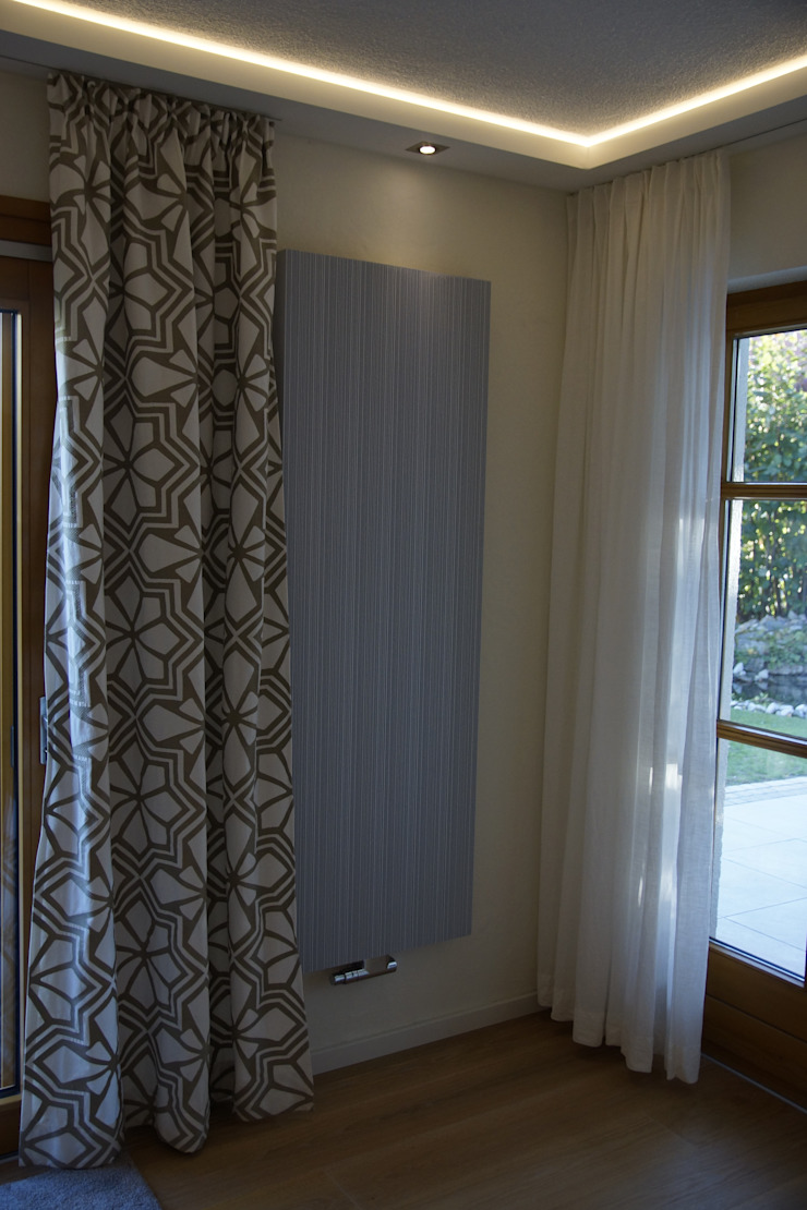 Salones de estilo moderno de T-raumKONZEPT - Interior Design im Raum Nürnberg Moderno Hierro/Acero
