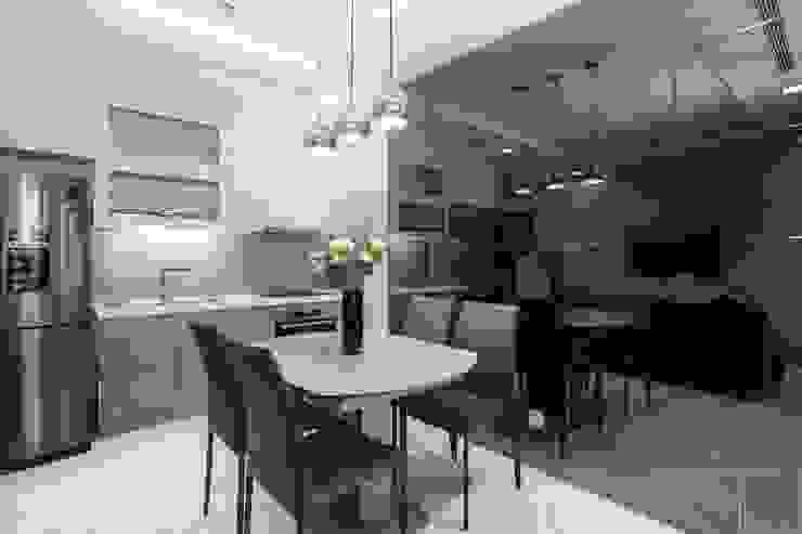Thi công nội thất căn hộ landmark 81 – Phong cách hiện đại Phòng ăn phong cách hiện đại bởi ICON INTERIOR Hiện đại
