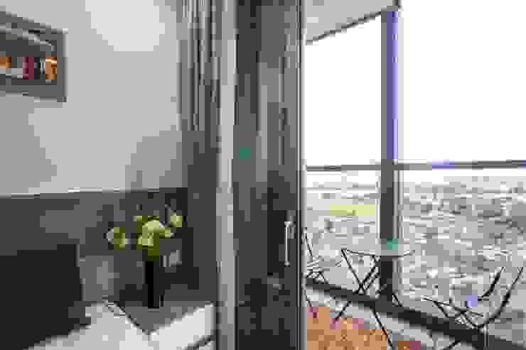 Thi công nội thất căn hộ landmark 81 – Phong cách hiện đại Phòng ngủ phong cách hiện đại bởi ICON INTERIOR Hiện đại