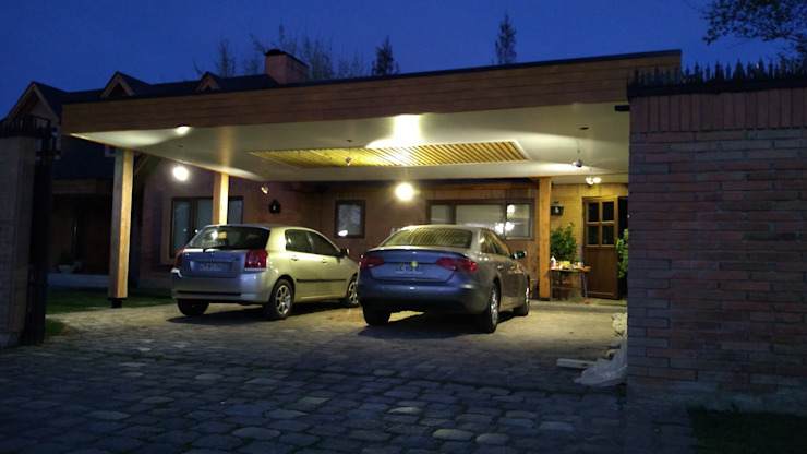 Flat roof by eco cero - Arquitectura sustentable en Talca, Modern