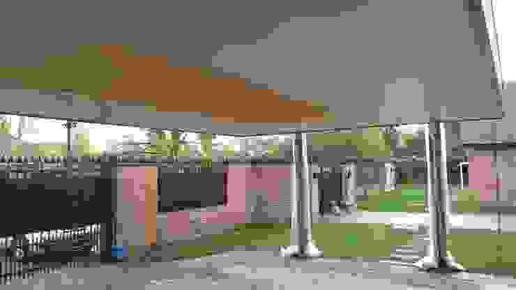 Diseño y Construcción de Cobertizo en Talca – Luis Matus de eco cero - Arquitectura sustentable en Talca Moderno