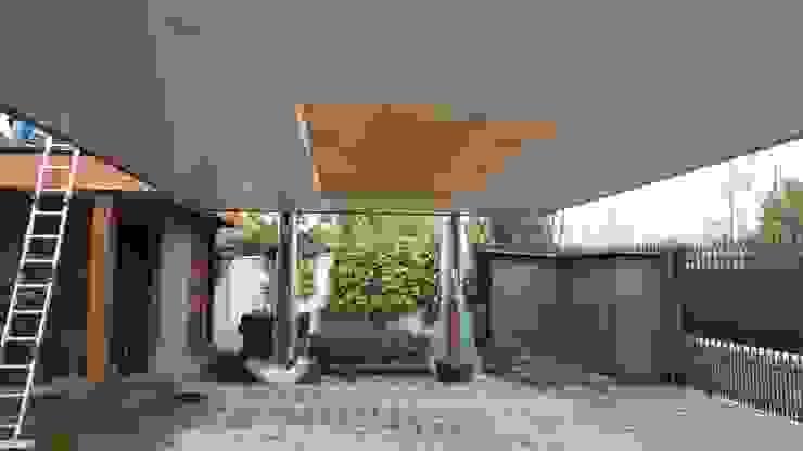 Diseño y Construcción de Cobertizo en Talca - Luis Matus de eco cero - Arquitectura sustentable en Talca Moderno