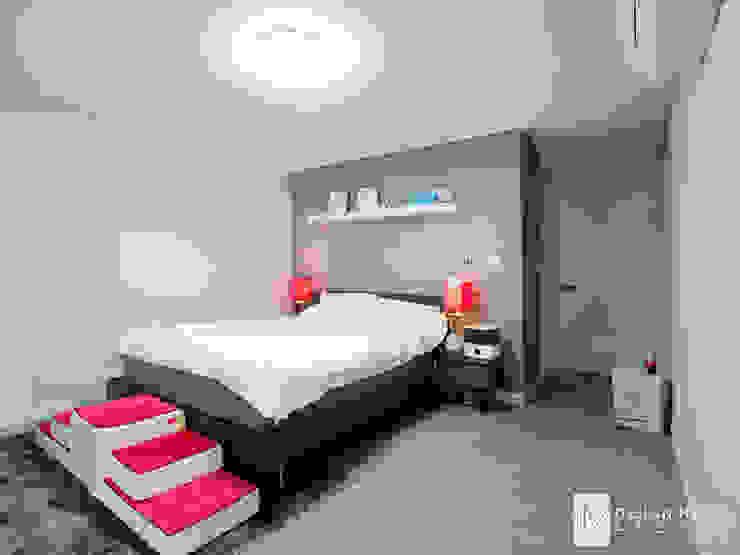 성원상떼빌 34평-침실, 욕실, 현관 모던스타일 침실 by 디자인아이엠 모던