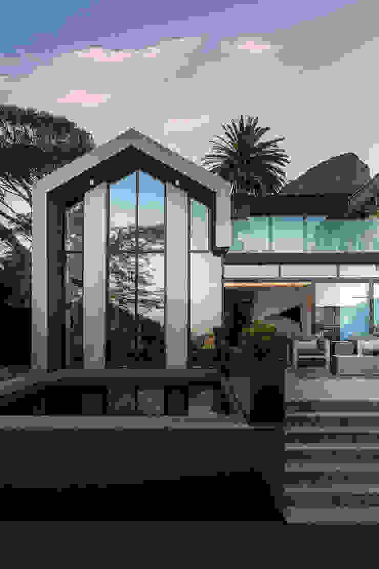 Minimalistyczne domy od GSQUARED architects Minimalistyczny