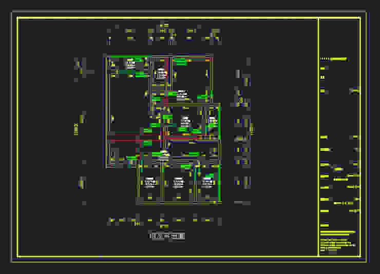 測量系統自動導出的CAD圖 知森數位開發有限公司