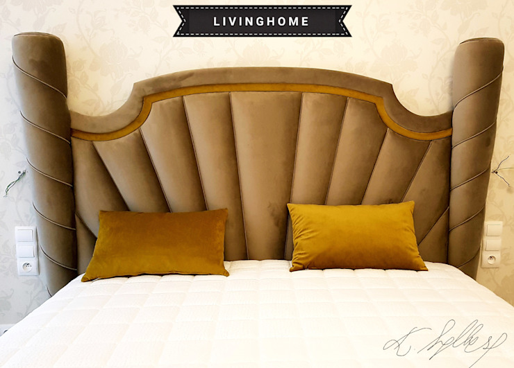 eclectic  by livinghome wnętrza Katarzyna Sybilska, Eclectic Textile Amber/Gold