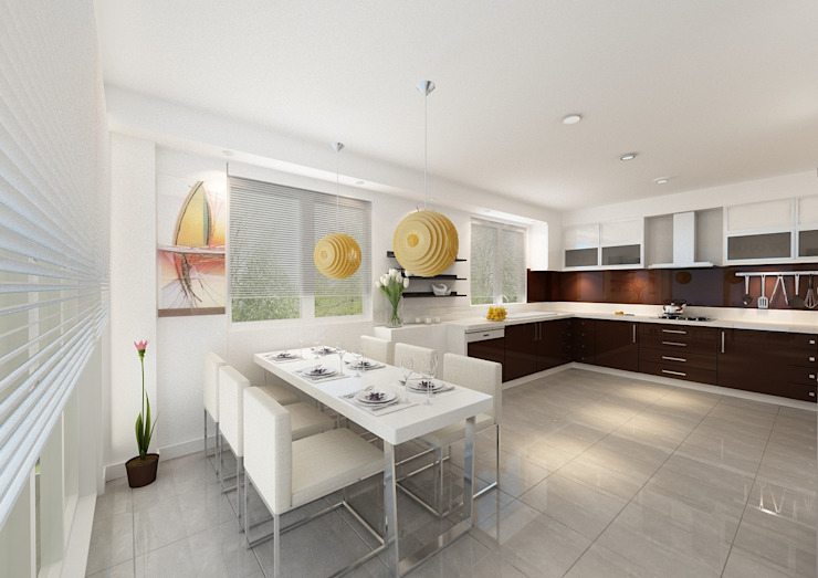 Kitchen by PRATIKIZ MIMARLIK/ ARCHITECTURE, Modern