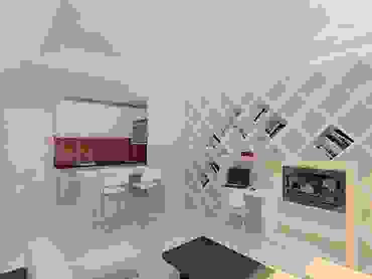 PRATIKIZ MIMARLIK/ ARCHITECTURE – HKC Evi: modern tarz , Modern