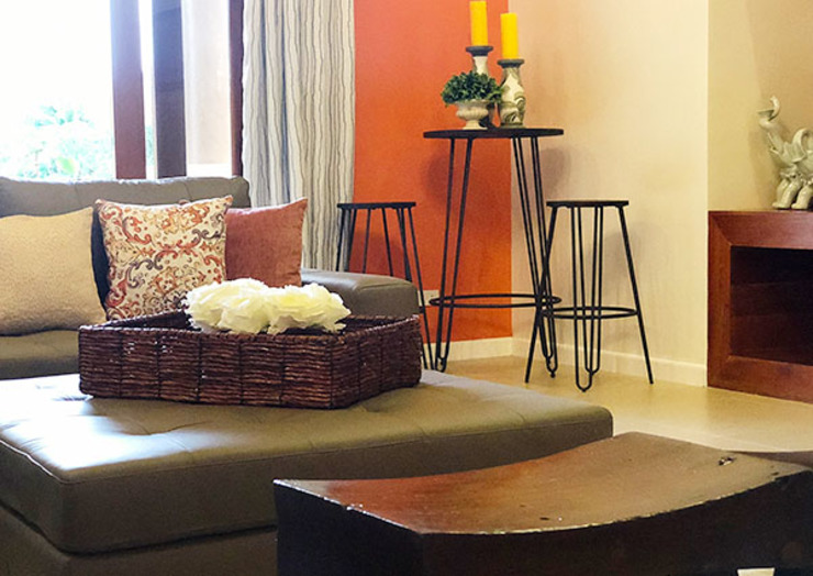 Fabulous Vacation House with a Flair – Tagaytay by SNS Lush Designs and Home Decor Consultancy Mediterranean
