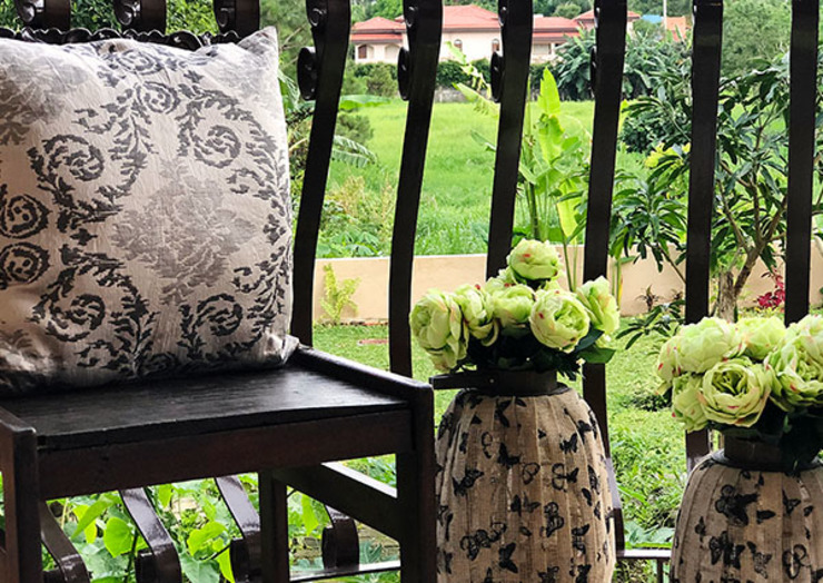 Fabulous Vacation House with a Flair – Tagaytay SNS Lush Designs and Home Decor Consultancy Balcony