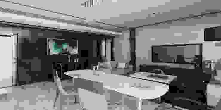 Interior Comedor Vista 01: Comedores de estilo  por CR.3D Modeling & Rendering,